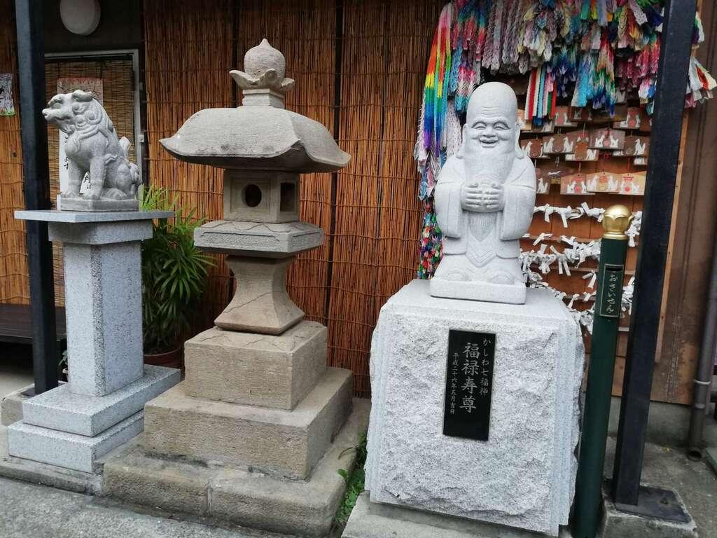 豊受稲荷本宮の像