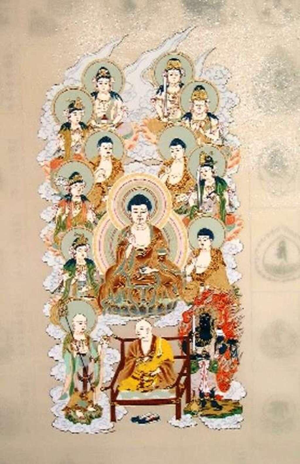 法話と天井絵の寺 觀音寺の芸術