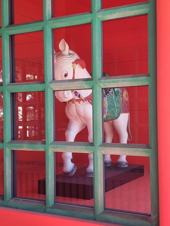 穴八幡宮の狛犬