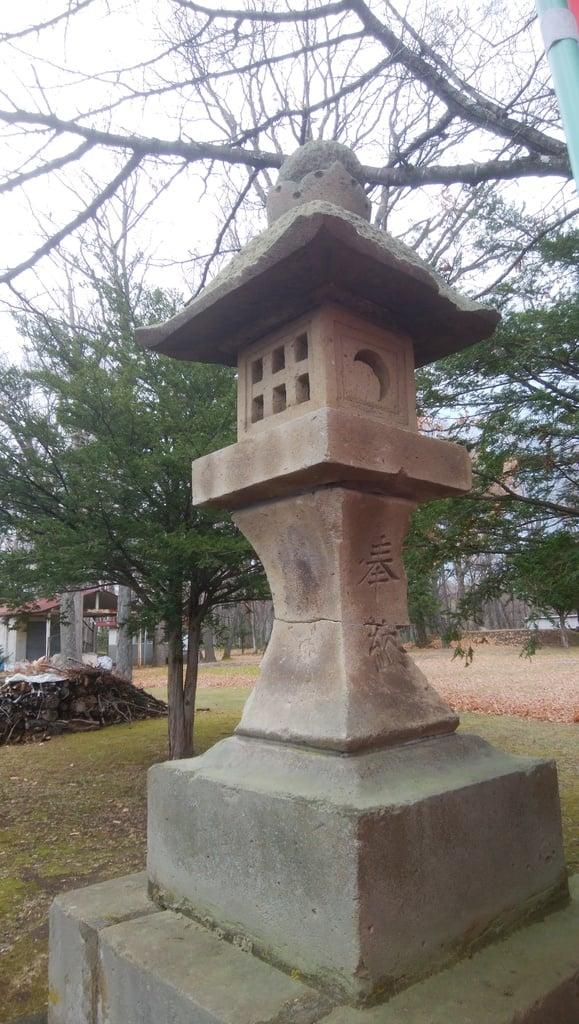 清里神社の塔