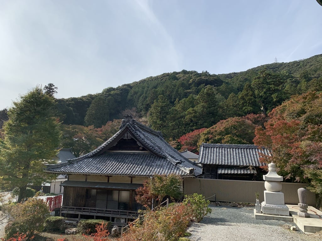 普門寺(切り絵 御朱印の寺)の景色