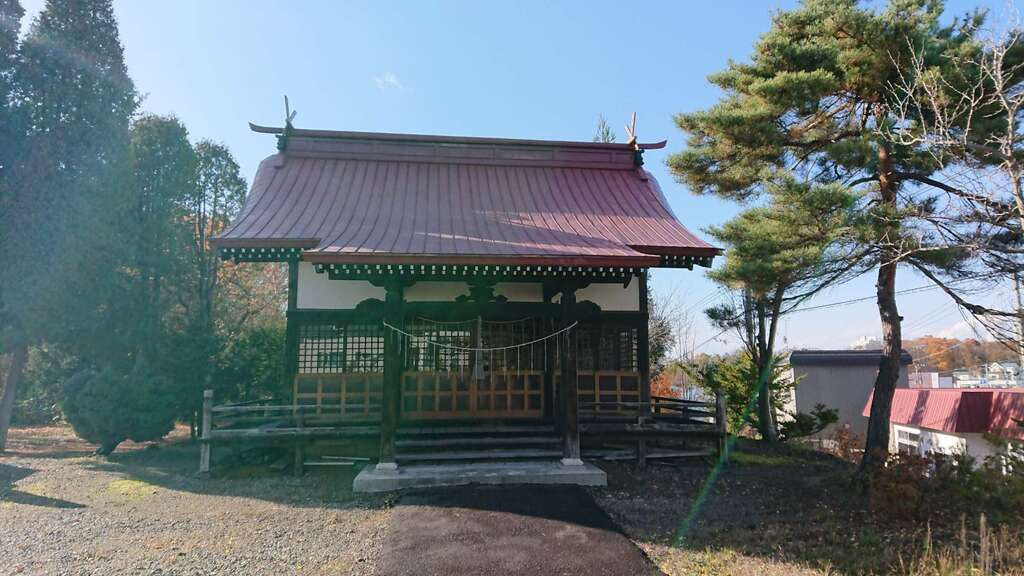 岩見沢相馬神社の本殿