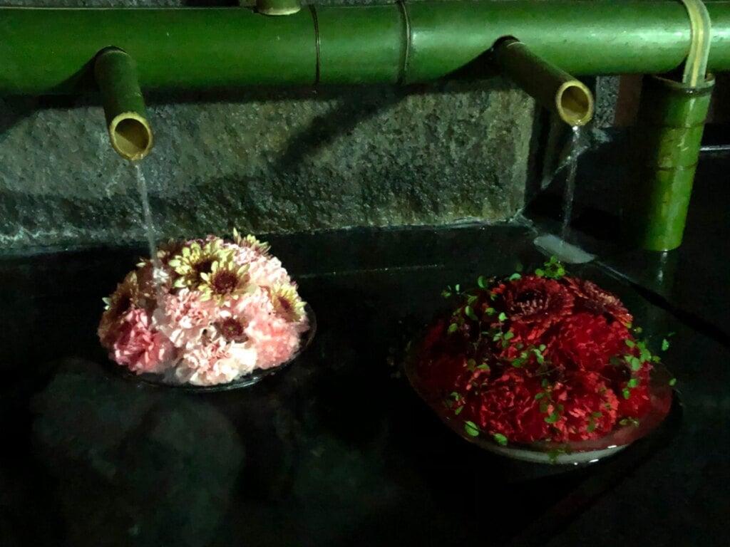 尊永寺の手水