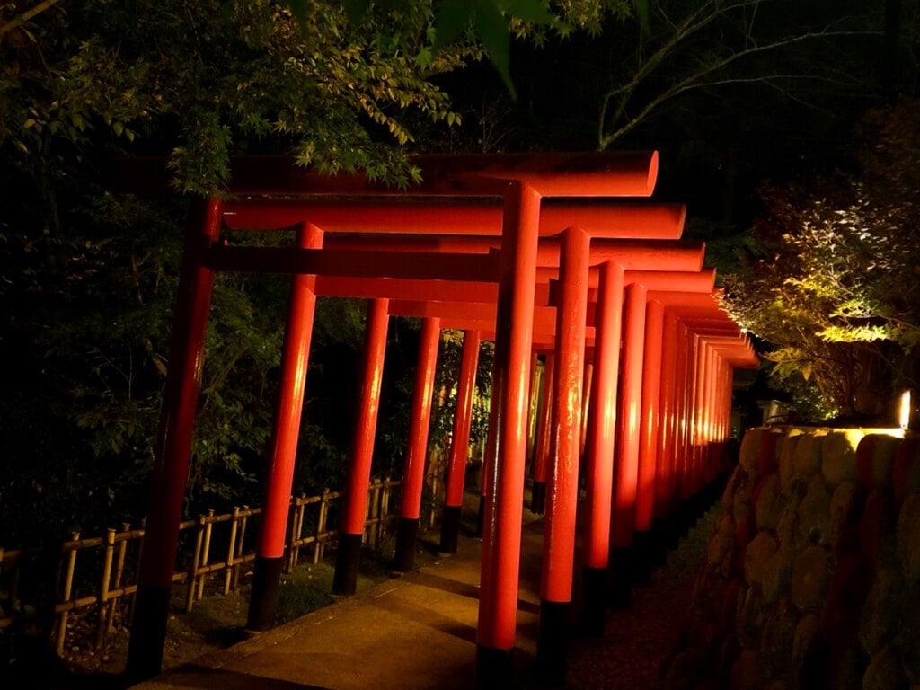 尊永寺の鳥居