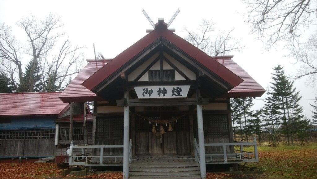 磯分内神社の本殿