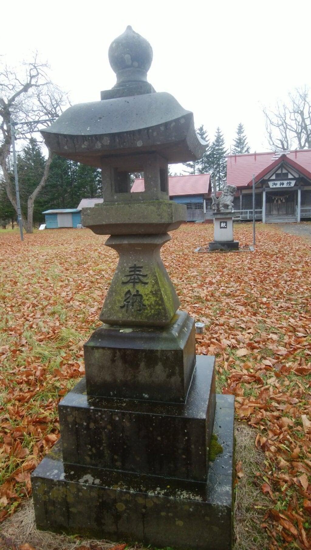 磯分内神社の塔