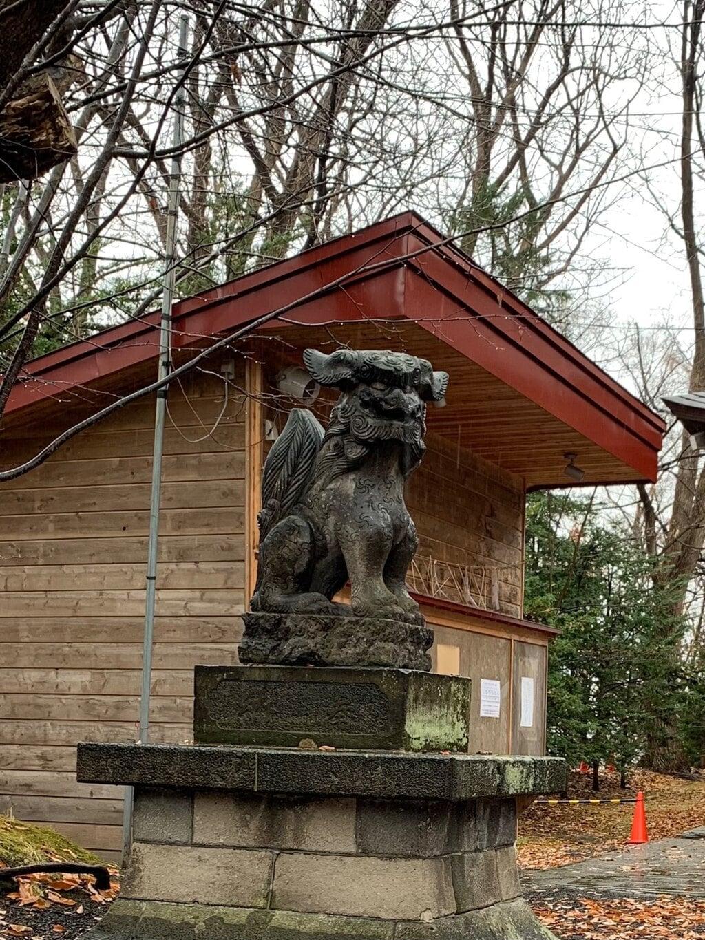 相馬神社の狛犬