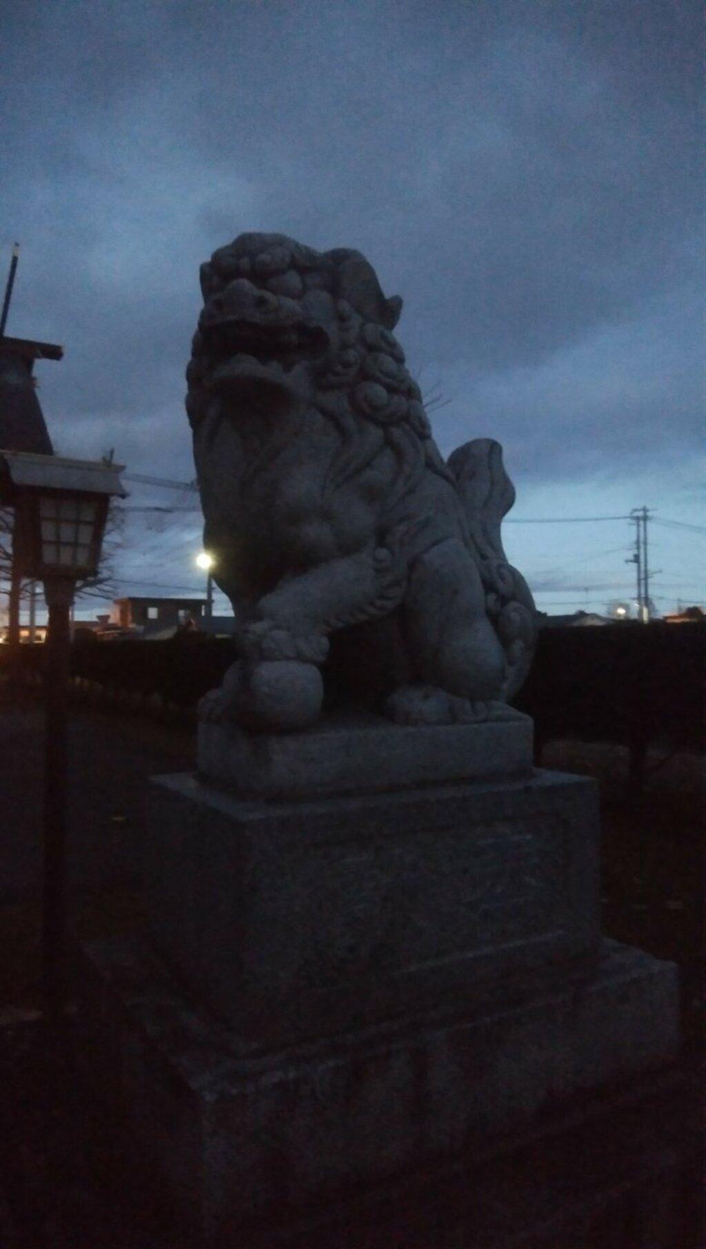 士幌神社の狛犬
