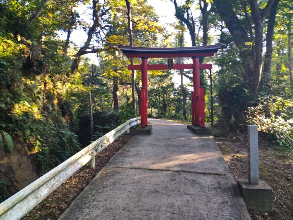 笠森寺の鳥居