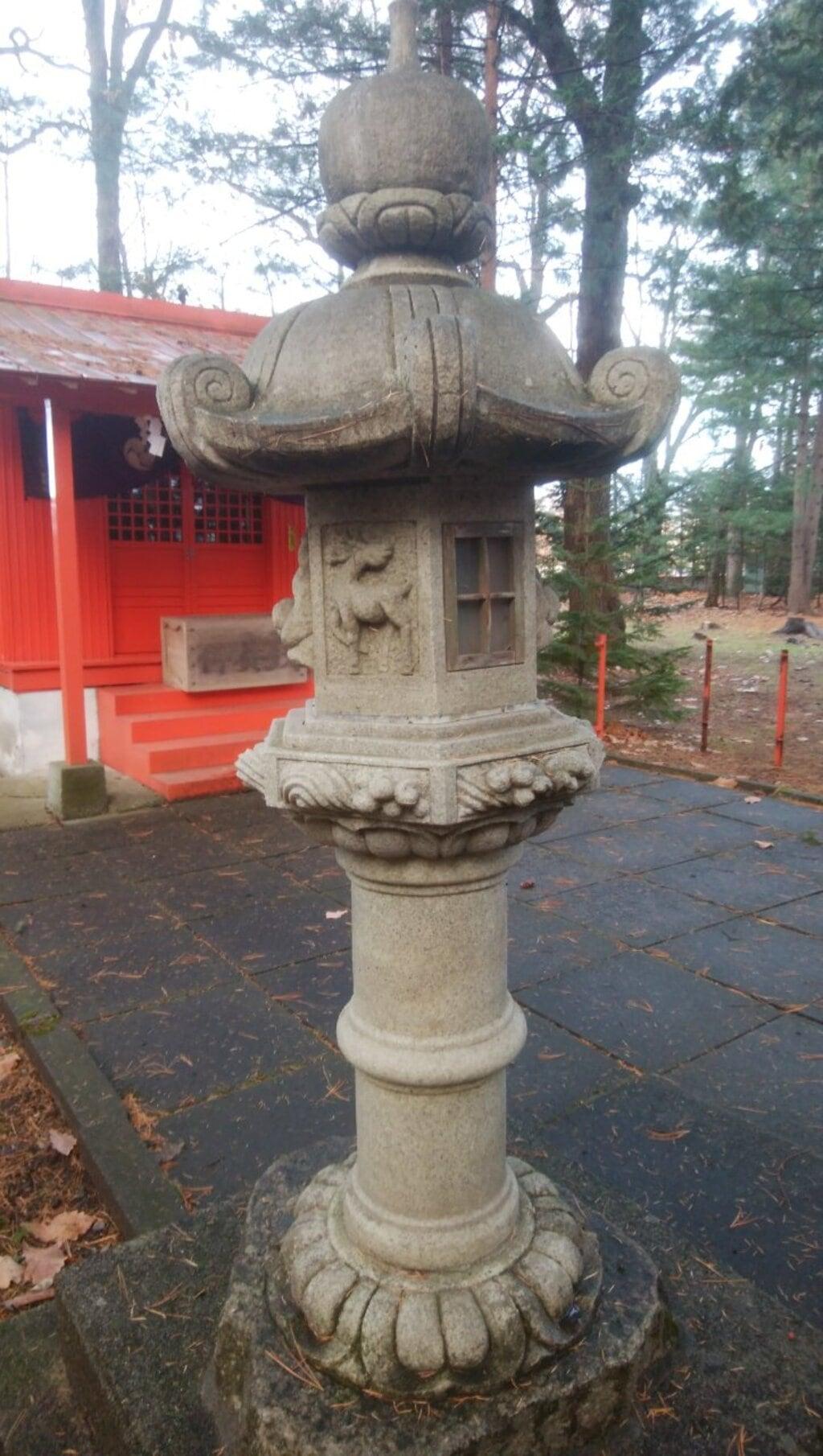 芽室神社の塔