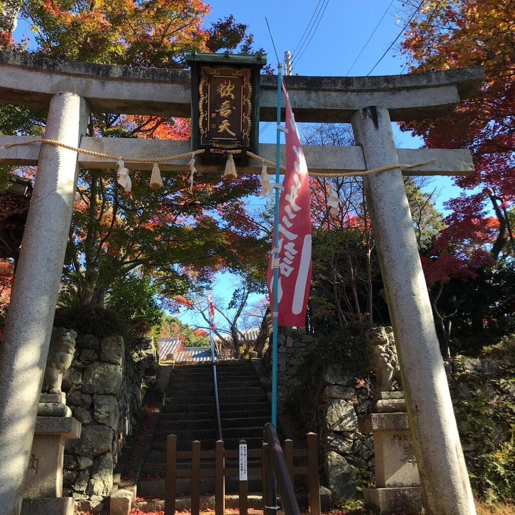 西江寺の鳥居