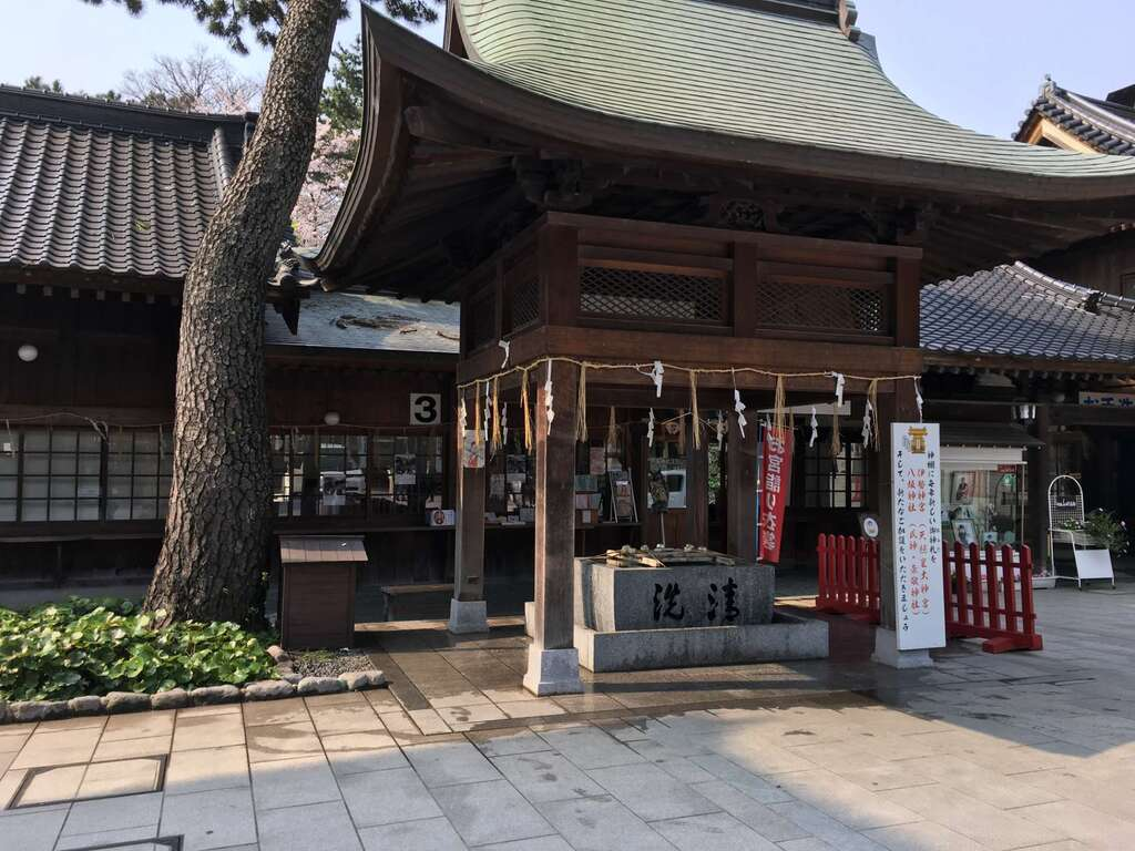 小倉祇園八坂神社の手水