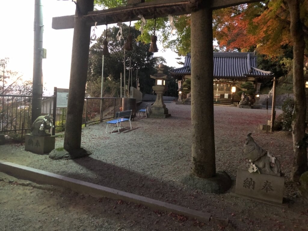 玉祖神社の鳥居