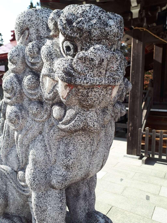 金蛇水神社の狛犬