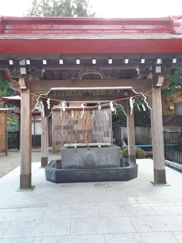 金蛇水神社の手水