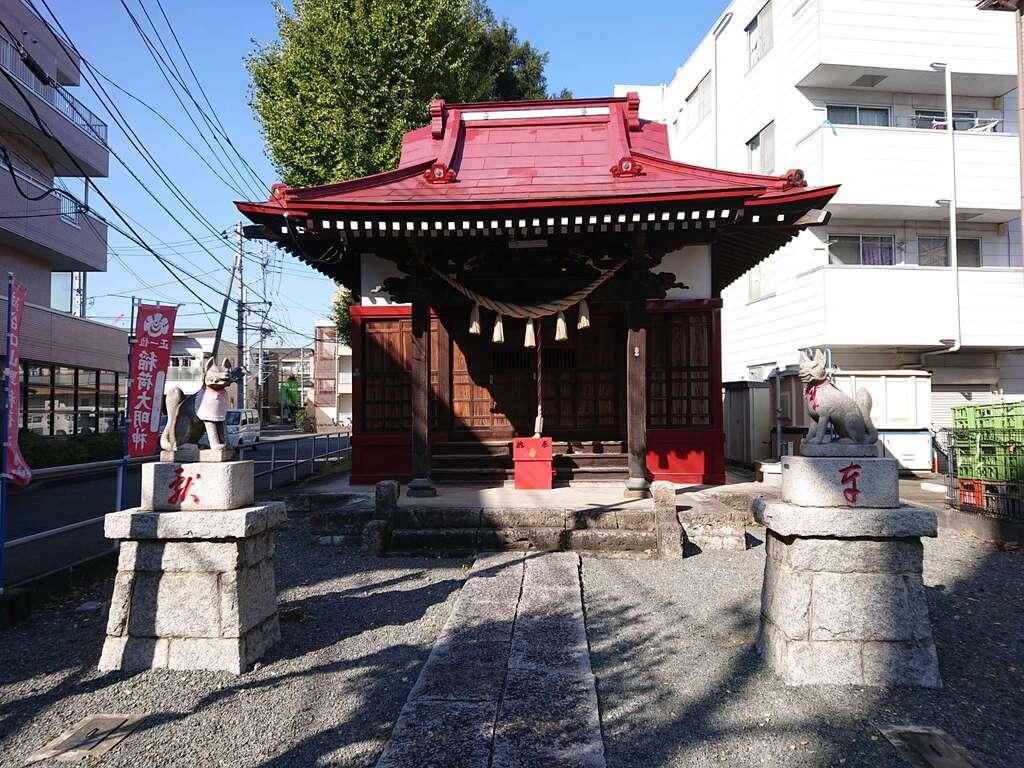 谷口山野稲荷神社の本殿