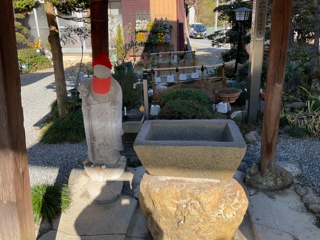 大慈寺の手水