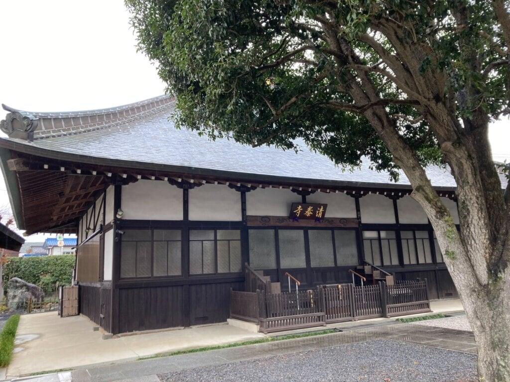 清泰寺の本殿