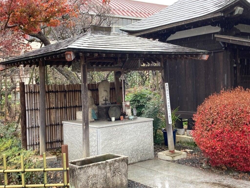 清泰寺の手水