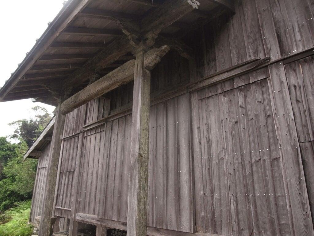 沖ノ神島神社の本殿