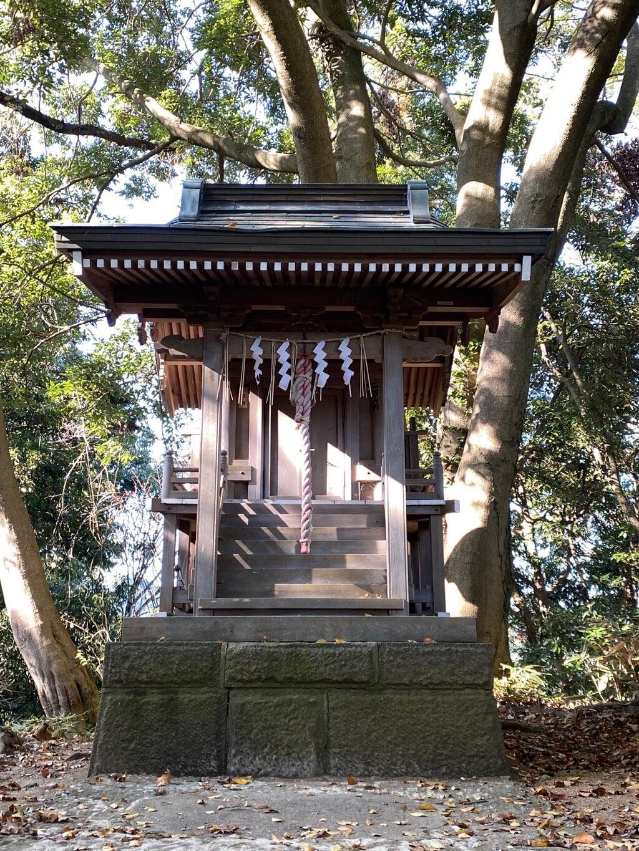 金毘羅社の本殿