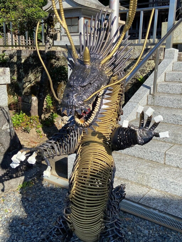 飽波神社の狛犬