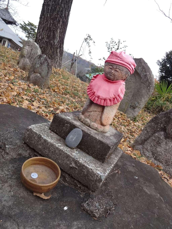 狭山山不動寺の地蔵