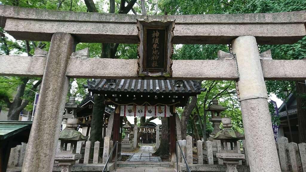 神須牟地神社の鳥居