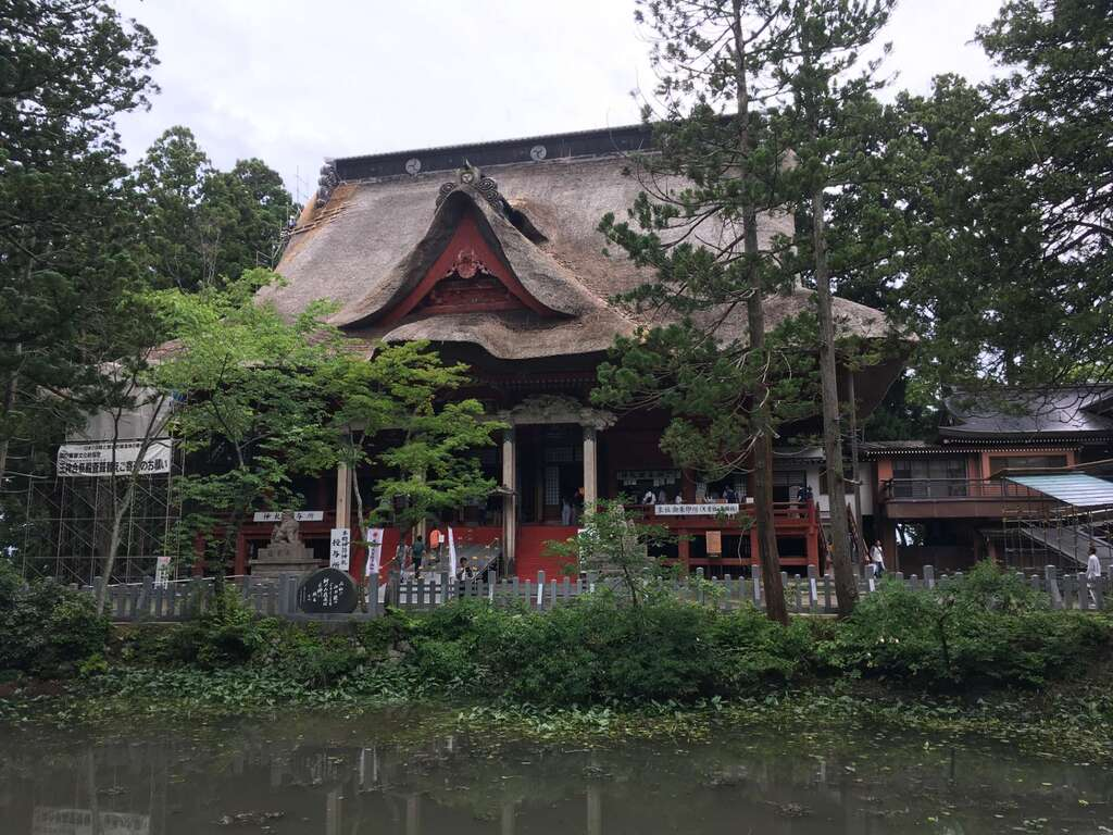 出羽神社(出羽三山神社)~三神合祭殿~の本殿
