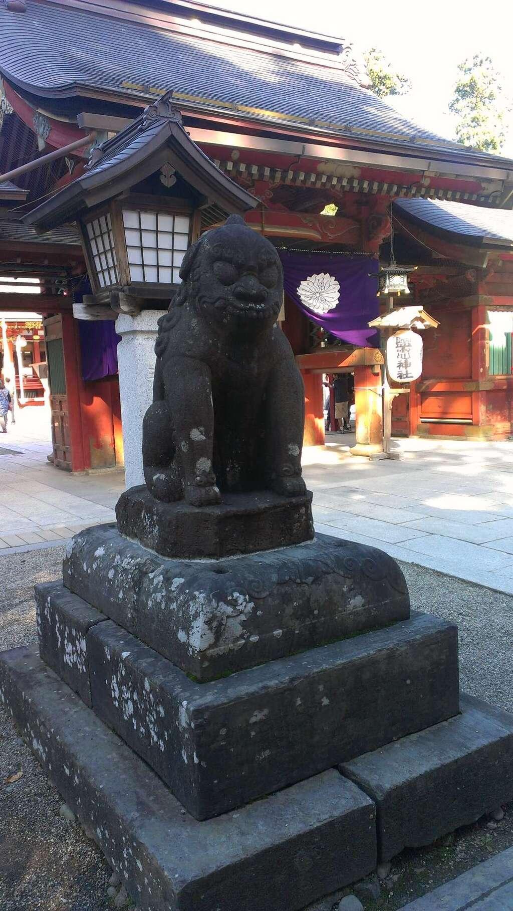 志波彦神社・鹽竈神社の狛犬