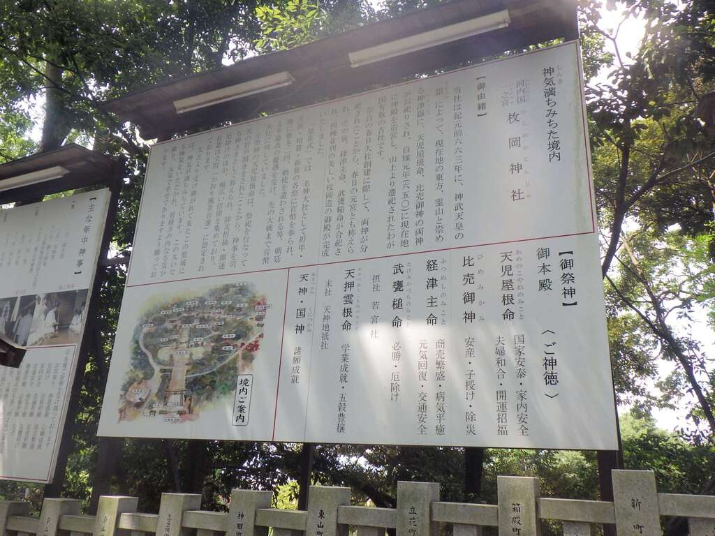 枚岡神社の歴史
