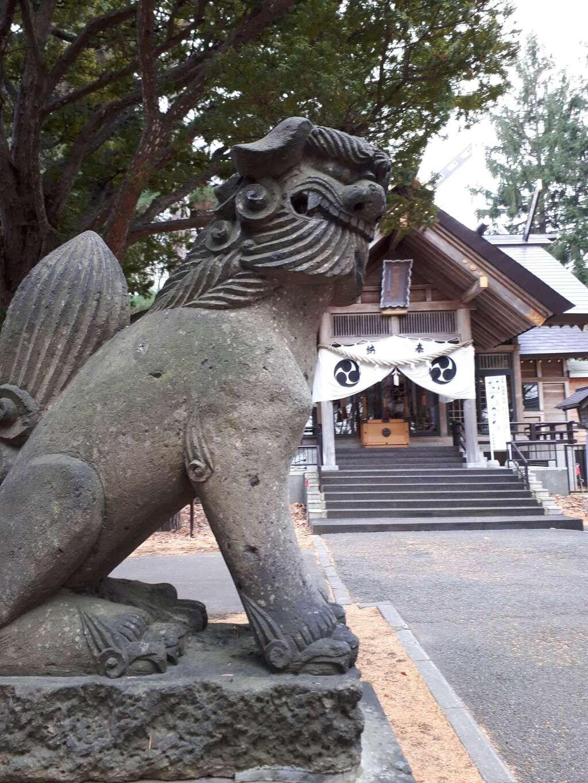 大谷地神社の狛犬