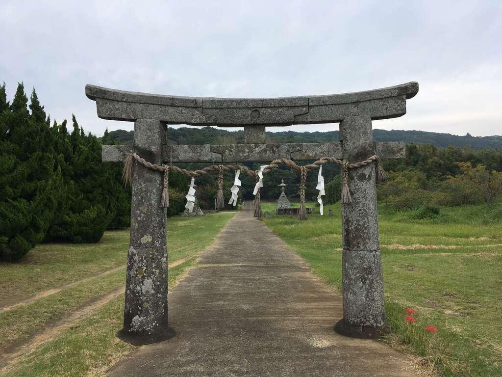 白沙八幡神社の鳥居