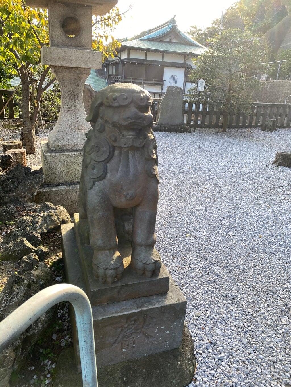 叶神社 (西叶神社)の狛犬