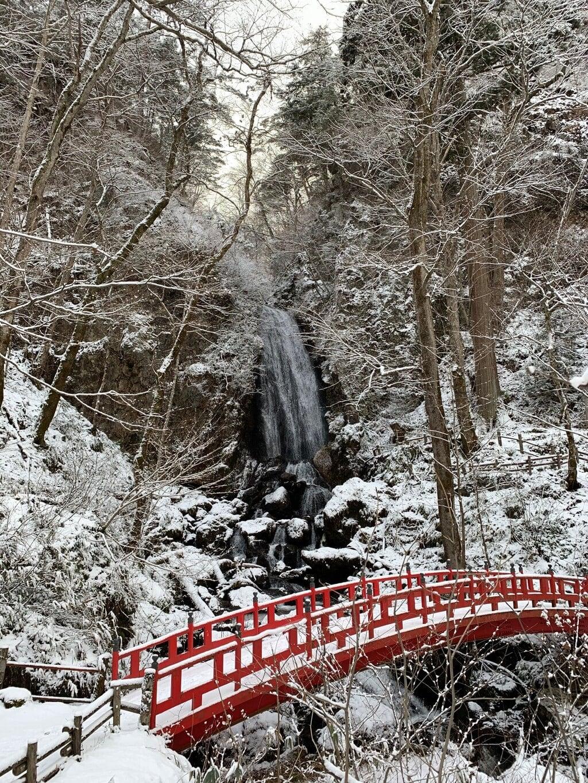 桜松神社の庭園