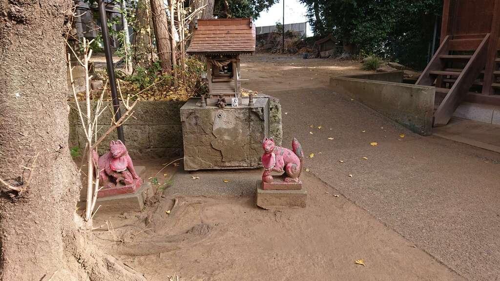 赤羽八幡神社の末社