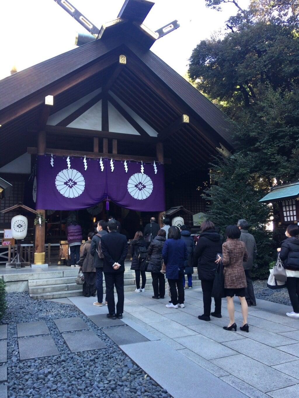 東京大神宮の本殿