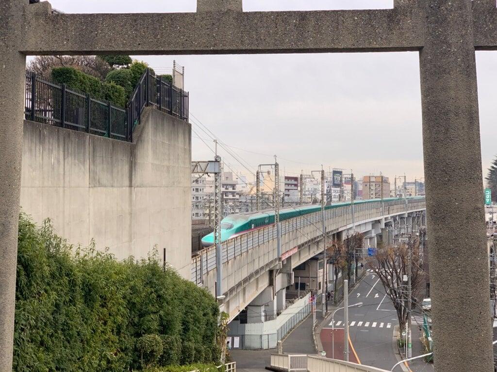 赤羽八幡神社の景色