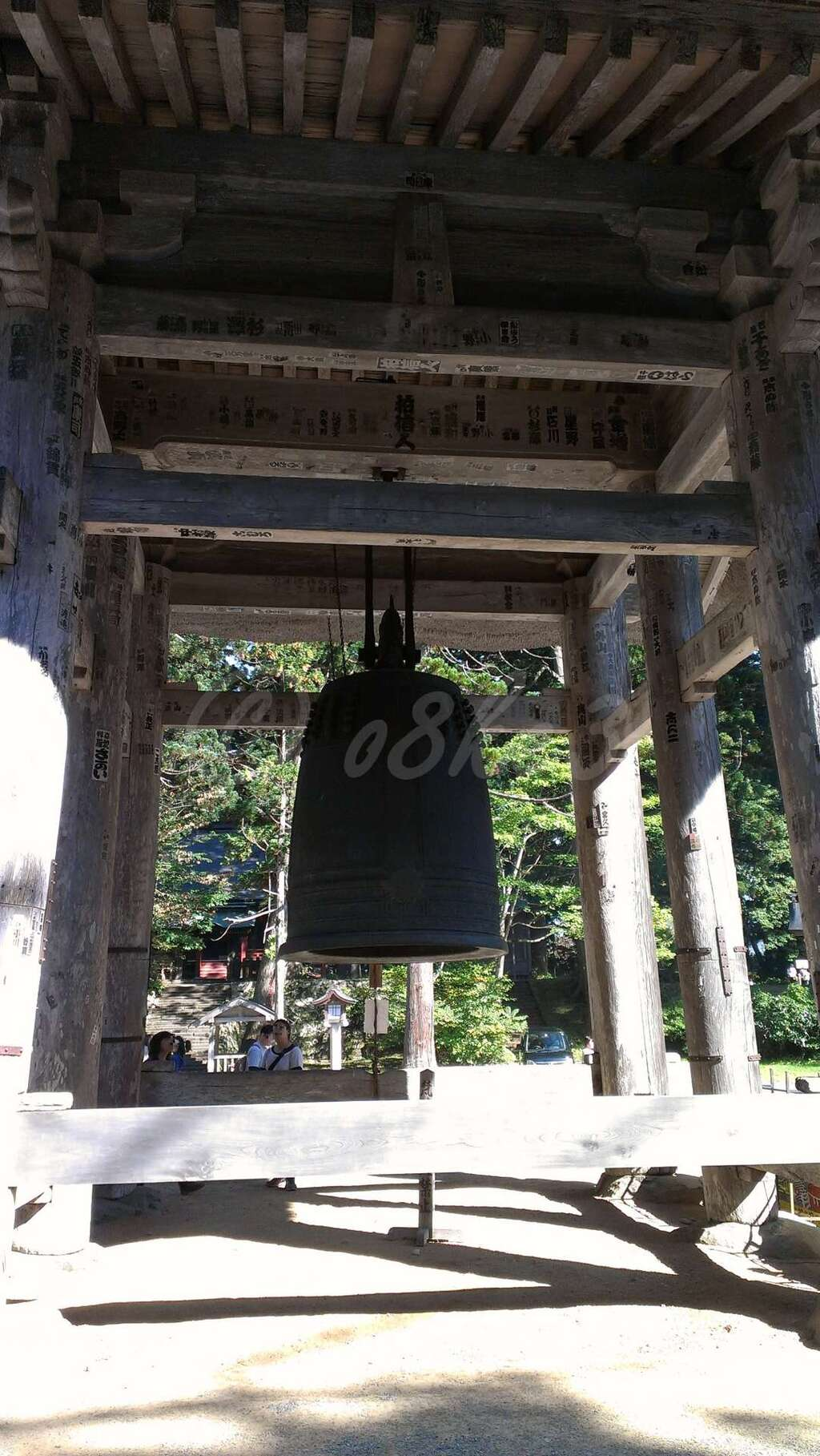 出羽神社(出羽三山神社)~三神合祭殿~の建物その他