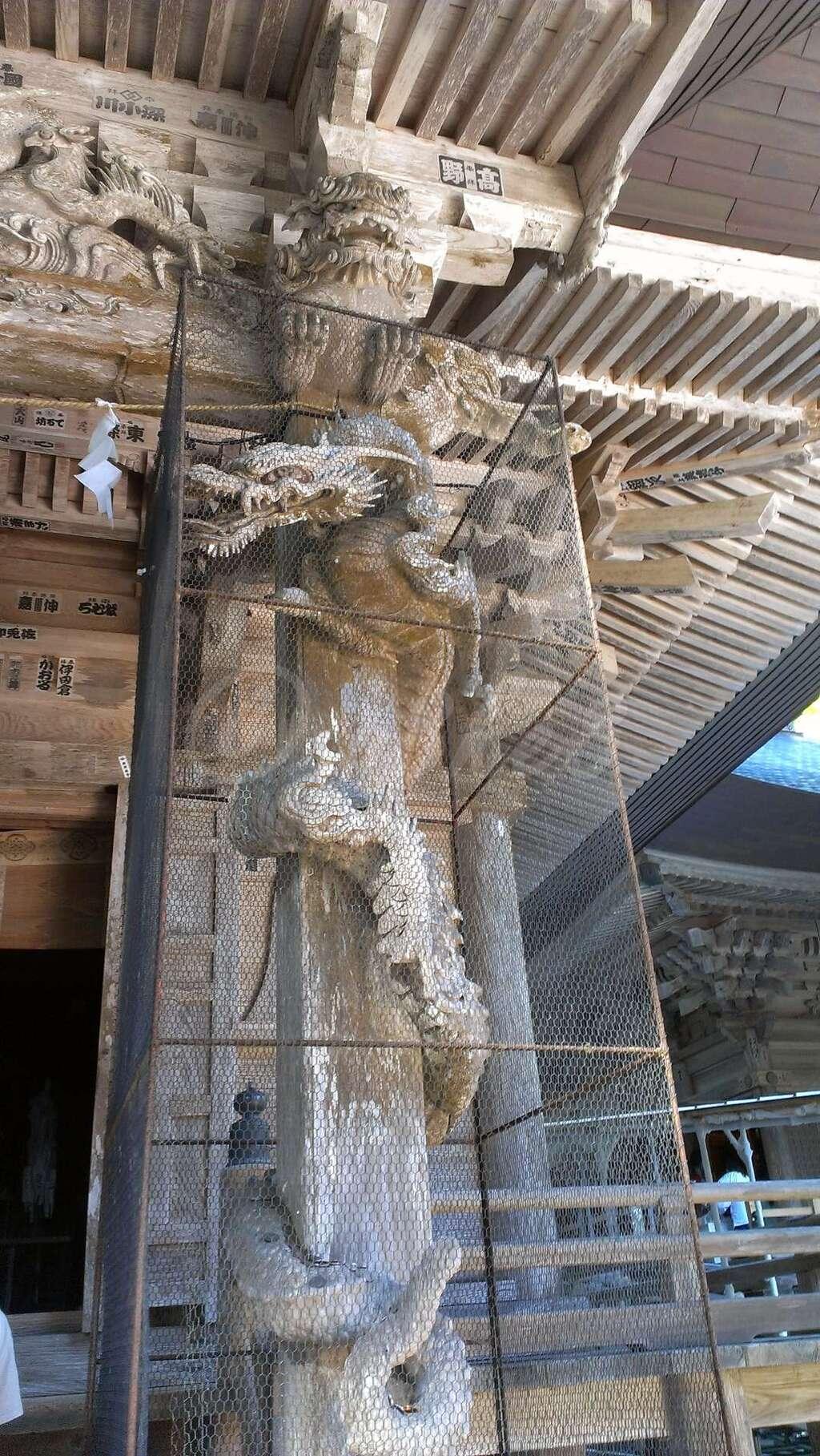 出羽神社(出羽三山神社)~三神合祭殿~の芸術