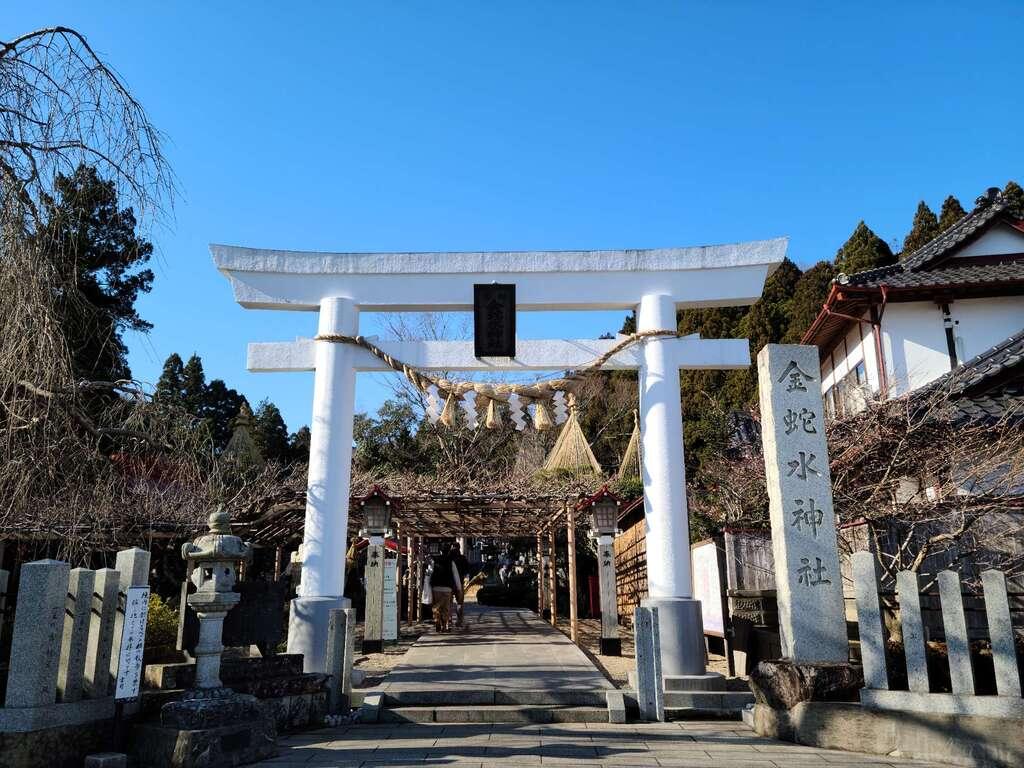 金蛇水神社の鳥居