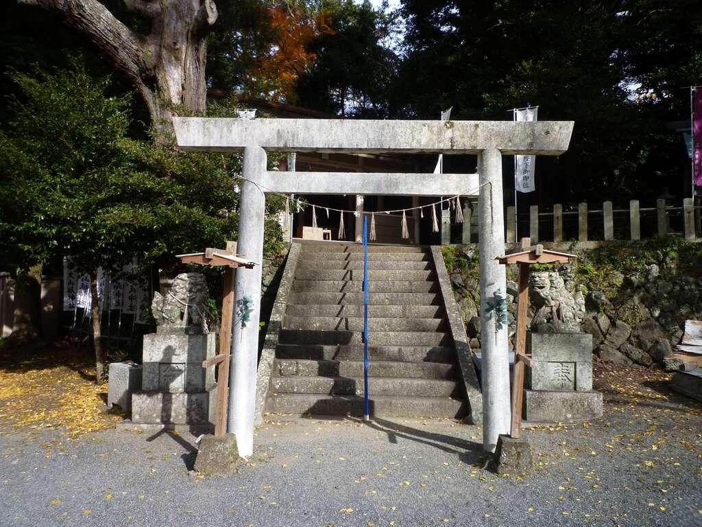 大山祇神社の鳥居