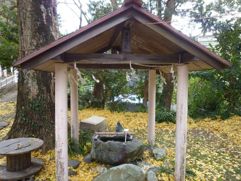 大山祇神社の手水