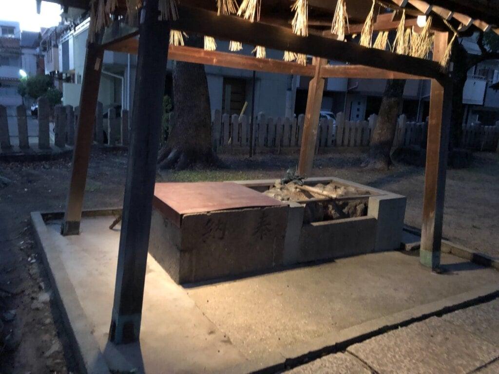神須牟地神社の手水