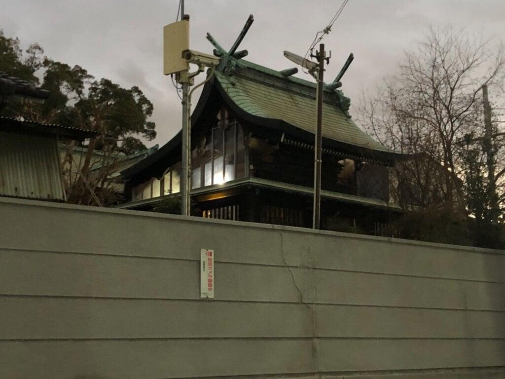 神須牟地神社の本殿