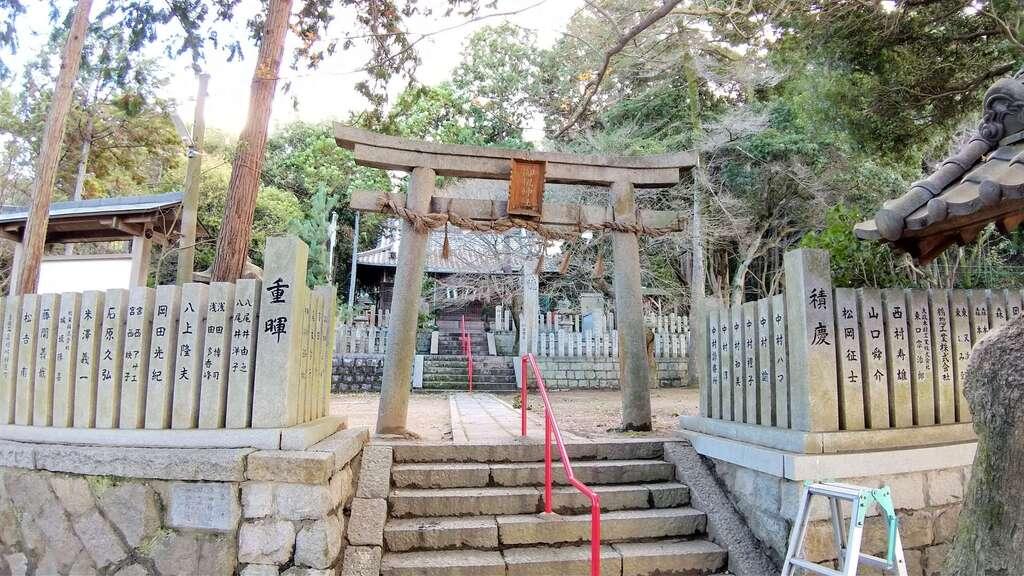 御机神社の鳥居