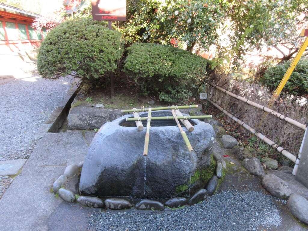 富士山本宮浅間大社の手水
