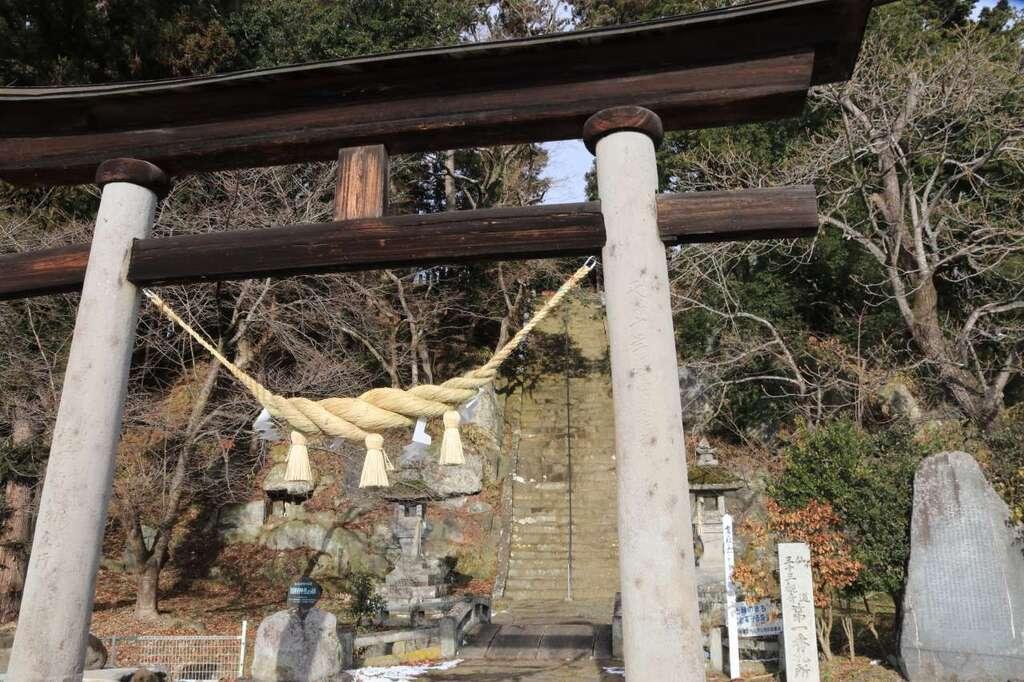 田村神社の鳥居