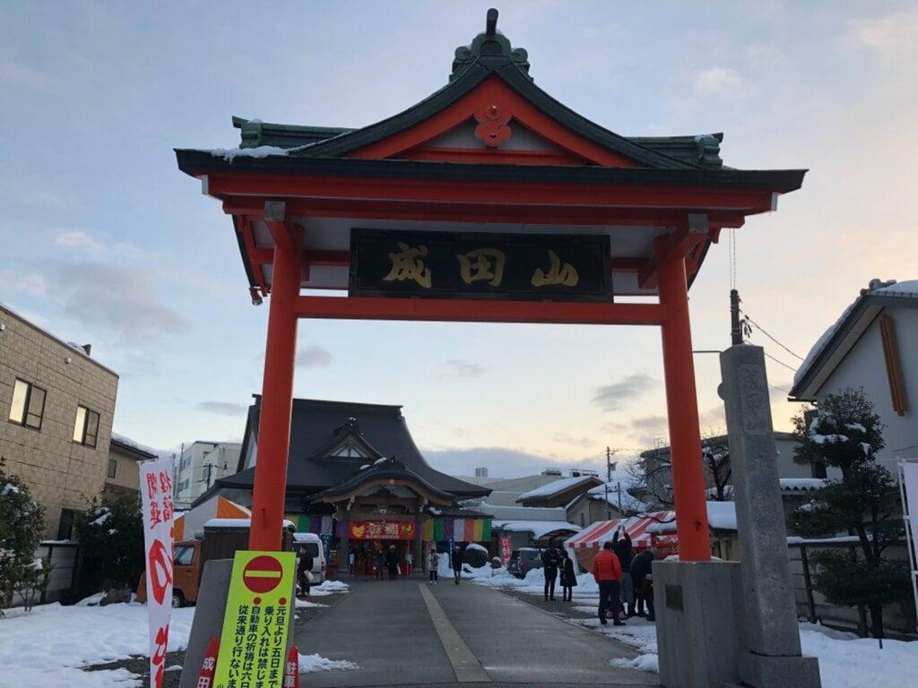 富榮寺の山門