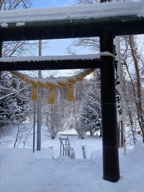 上野幌神社の手水